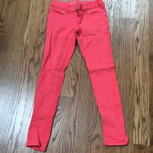 Denim - Limited pink denim. Size 0.